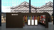 nespresso abrio su primer local exclusivo en el alto rosario shopping