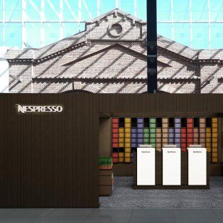 nespresso abrio su primer local exclusivo en el alto rosario shopping