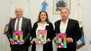 El acto se desarrolló en la sede del Comité Olímpico Argentino, en Capital Federal.