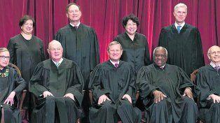 los supremos. Foto oficial de la Corte Suprema con el nuevo miembro
