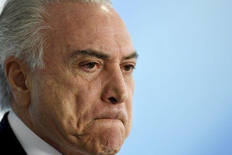 mala noticia. El presidente Temer podría seguir el mismo destino que su predecesora Rousseff.