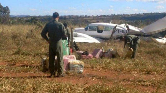 Avión con cocaína salió del campo de un ministro