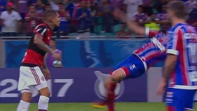 Roja para el peor actor del fútbol brasileño