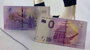 Los billetes de cero euros alcanzaron un inesperado éxito.