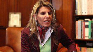 La jueza federal de San Isidro, Sandra Arroyo Salgado, estuvo acompañando a su hermana.