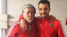 Sergio González, masajista del plantel profesional de Newells, dedicó en Facebook un extenso y cariñoso mensaje al goleador.