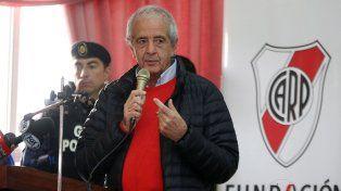 Raíl DOnofrio, presidente de River Plate.