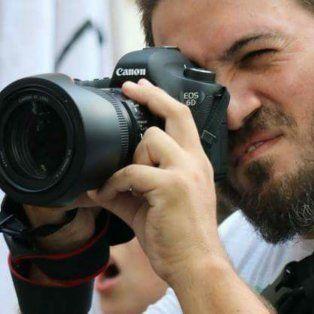 consternacion por la muerte del fotografo ignacio amaya en el accidente en la ruta 33