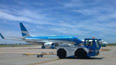 En Fisherton. Según los operadores turísticos locales, los vuelos salen desde Rosario con alta ocupación.