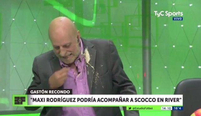El blooper de Horacio Pagani cuando hablaban en vivo de Maxi Rodriguez y Scocco