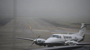 El aeropuerto de Fisherton tendrá una intensa actividad y habrá en la zona una custodia especial.