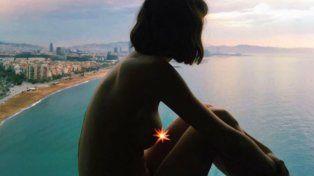 El Chino Darín le sacó una foto a su novia posando desnuda y ella la publicó en Instagram