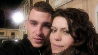 Nadia Murineddu y Giovanni Delegu se conocieron a través de Facebook.