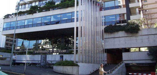 Universidad de Belgrano. El ataque