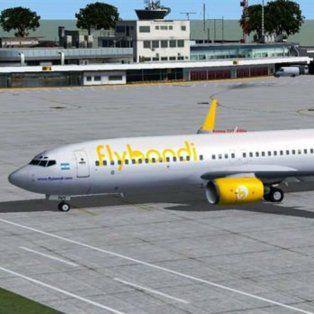 el gobierno habilito a la empresa flybondi a explotar 85 rutas aereas por 15 anos