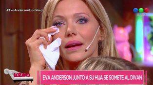 Mientras se prepara la boda de Messi, Eva Anderson se quiebra en llanto al hablar de sus hijos