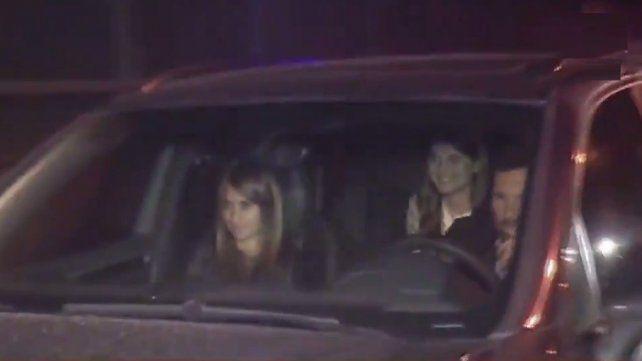 Messi y Antonela llegaron juntos al City Center para ultimar los detalles de la boda