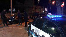 Operativo. Dos personas fueron detenidas por la Policía Federal sobre avenida Belgrano.