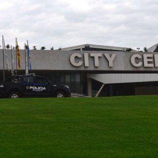 El complejo City Center, donde se realizará la ceremonia civil y la fiesta.