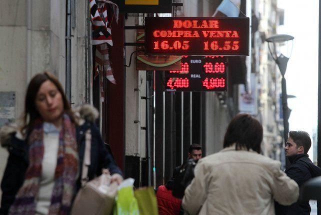 Divisa. El Banco Central no intervino en el mercado de cambio.