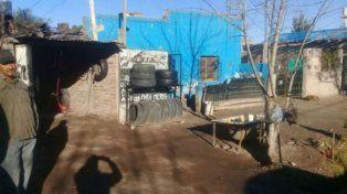 La vivienda de San Rafael donde se escondió la nena de 8 años.