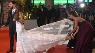 El video que muestra lo bien que lo pasaron Messi y Antonela en su fiesta de casamiento