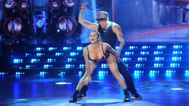 Barby Silenzi y El Polaco en la edición 2016 del Bailando.