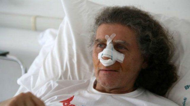 Girotto debió ser hospitalizado tras el ataque.