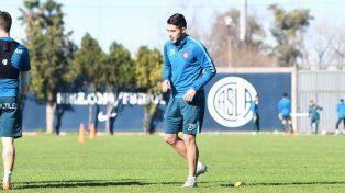 El exCentral Víctor Salazar ya se entrenó por primera vez en San Lorenzo