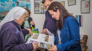 Jordán recibió el viernes pasado a la precandidata de Cambiemos.