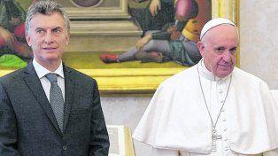 contacto inicial. El presidente Macri y el Papa mantuvieron su primera reunión en febrero de 2016.