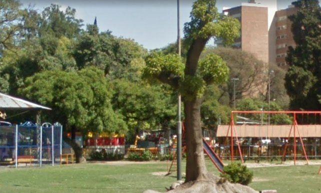 El sector de juegos está ubicado en Avenida Centenario Newells Old Boys y Pellegrini. (Foto Google Maps)