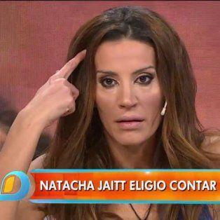 natacha jaitt revelo detalles de sus encuentros sexuales con diego latorre
