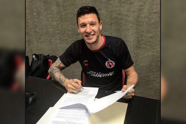 Oficial. Damián Musto firmó contrato y es nuevo jugador del Xolos de Tijuana.