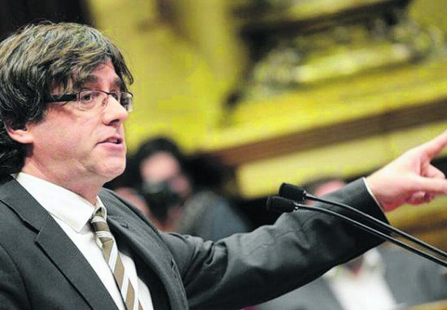 secesionista. El presidente catalán