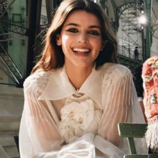 el video de calu rivero que estuvo entre los vip del exclusivo desfile de chanel en paris