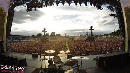 Queen se adueño de un concierto de Green Day y su canción Rapsodia Bohemia fue coreada por 65.000 fans