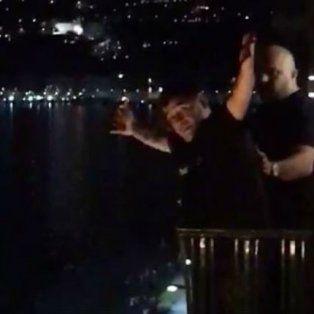 el video de maradona en napoles que enoja a los hinchas de newells