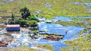 crisis hídrica. Las inundaciones en la región productora impactaron muy fuerte en el nivel de actividad de Sancor.