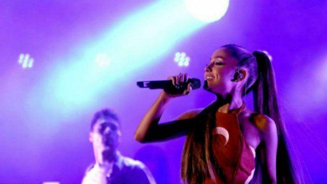 La cantante latina estuvo en Capital Federal.