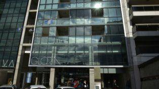 Uno de los edificios allanados por la Afip y Gendarmería está ubicado en Córdoba al 600.