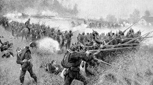 Imagen de la batalla de Caseros