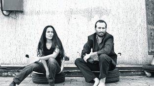 dúo. Alejandra Valdés y Alexis Perepelycia. El arte da opiniones más que soluciones