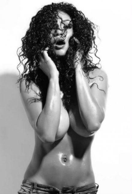 La producción más caliente de Kate Rodríguez que posó en topless y sin tapujos