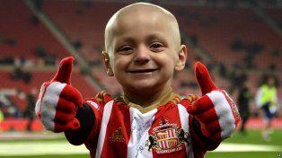 Dolor. Bradley Lowery murió a los 6 años tras perder la lucha contra el cáncer.