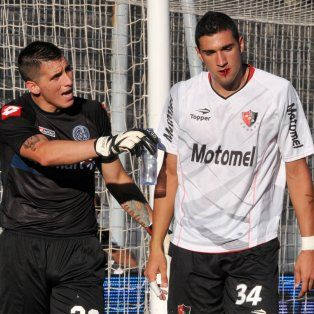 El partido. Migliore, aquella tarde del Coloso junto al uruguayo Boghossián.