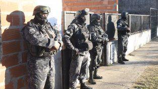 Numerosos allanamientos se realizaron el martes en la ciudad y San Nicolás y Villa Gobernador Gálvez.