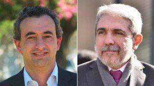 Tenso cruce. Javkin y Aníbal Fernández discutieron en las redes y el rosarino terminó bloqueado.