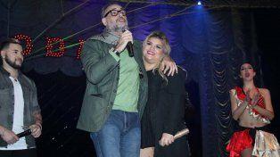 Morena Rial debutó como cantante y le dedicó una canción especial a su papá