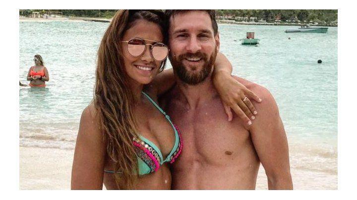 Más fotos de Leo Messi y Anto Roccuzzo más enamorados que nunca en su luna de miel